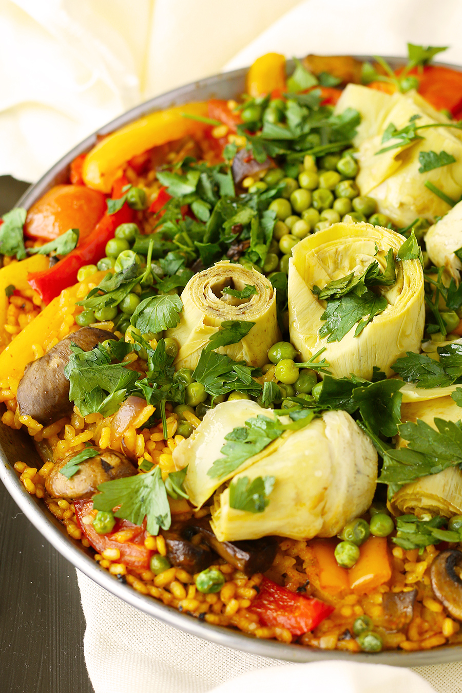 Aging Revealed's Simple Vegan Paella
